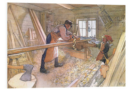Forex  Uncle Johan in the farm workshop - Carl Larsson