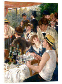 Acrylic print  Luncheon of the Boating (Detail) - Pierre-Auguste Renoir