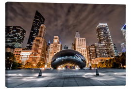 Canvas print  Cloud Gate Chicago - Sören Bartosch