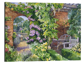 Aluminium print  Secret Garden - Paul Simmons