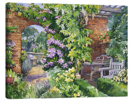 Canvas print  Secret Garden - Paul Simmons