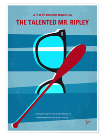 Premium poster The Talented Mr Ripley minimal movie poster