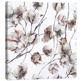 Canvas print  Cotton watercolor