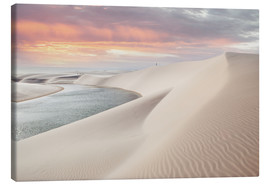 Canvas  Lencois Maranhenses - Alex Saberi
