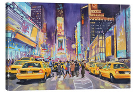 Canvas  Times Square at night - Paul Simmons
