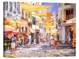 Canvas print  Market Day - Paul Simmons