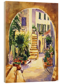 Wood print  Avenida Artara - Paul Simmons