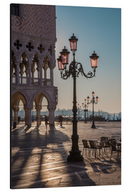Aluminium print  St. Mark's Square in the morning