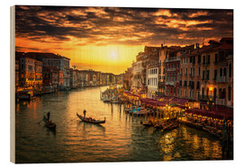 Grand Canal at sunset
