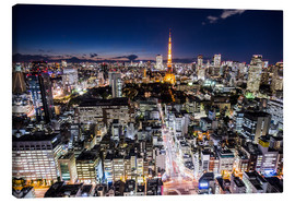 Canvas  Tokyo by night