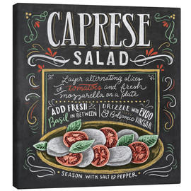 Canvas print  Caprese Salad recipe - Lily & Val