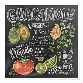 Poster  Guacamole - Lily & Val