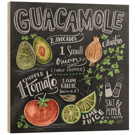 Wood  Guacamole - Lily & Val