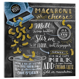 Acrylic glass  Macaroni and Cheese recipe - Lily & Val