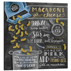 Alu-Dibond  Macaroni and Cheese - Lily & Val