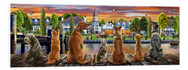 Forex  Dogs on the Quay (Variant 1) - Adrian Chesterman