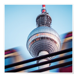 Premium poster Berlin - TV Tower
