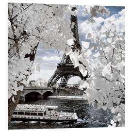 Foam board print  Infrared Shipping in Paris - Philippe HUGONNARD