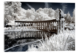 Acrylic print  Infrared - Ancient architecture - Philippe HUGONNARD