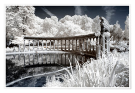 Premium poster  Infrared - Ancient architecture - Philippe HUGONNARD