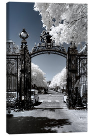 Canvas print  Infrared - Parisian Gate - Philippe HUGONNARD