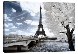 Canvas  Another Look - Paris Eiffel Tower - Philippe HUGONNARD