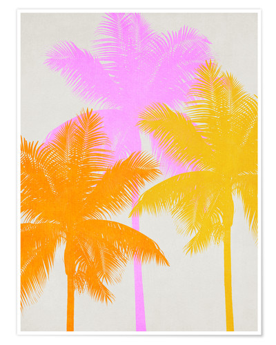 Premium poster Palm collage