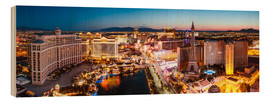 Wood  View on Bellagio and the Strip, Las Vegas, Nevada, USA - Matteo Colombo