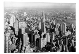 Foam board print  New York City 1932, Midtown Skyline - Sascha Kilmer