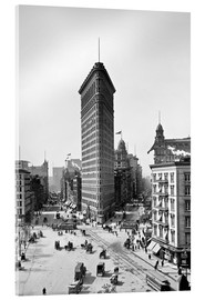 Acrylic glass  New York City 1920, Flatiron Building - Sascha Kilmer