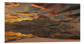 Foam board print  alpine lake - Peter Weishaupt