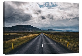 Canvas  Streets of Iceland # 1 - Sebastian Warneke
