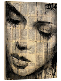 Wood print  AAROWS - Loui Jover