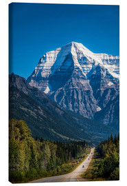 Canvas  Mount Robson - Andreas Kossmann