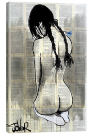Canvas print  white socks - Loui Jover