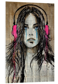 Foam board print  wiredforsound - Loui Jover