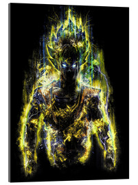 Acrylic print  50 Million Power Warrior Goku - Barrett Biggers