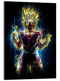 Acrylic glass  Angry to the Second Level Gohan - Barrett Biggers