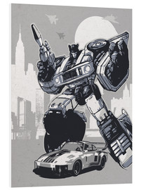 Foam board print  Jazz, Transformers - 2ToastDesign