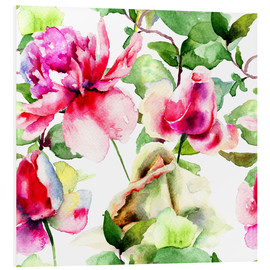 Forex  Roses Watercolor