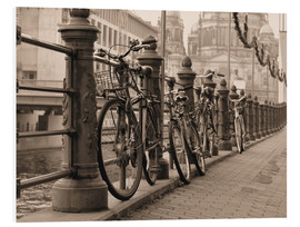 Forex  Bicycles on a promenade