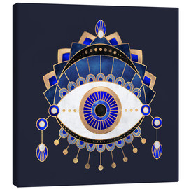 Canvas  Blue Eye - Elisabeth Fredriksson