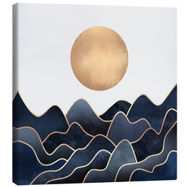 Canvas print  Waves - Elisabeth Fredriksson