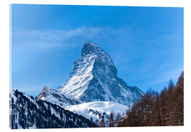 Acrylic print  The Matterhorn, Switzerland