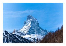 Premium poster The Matterhorn, Switzerland