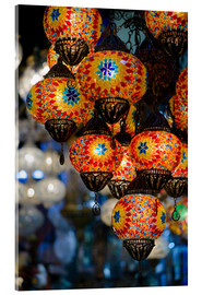 Acrylic glass  Mosaic lanterns in Istanbul