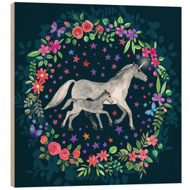 Micklyn Le Feuvre - Mama and Baby Unicorn