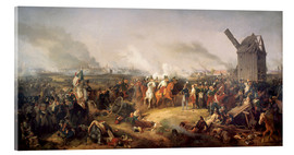 Acrylic glass  The Battle of Nations, Leipzig 1813 - Peter von Hess