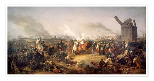 Premium poster The Battle of Nations, Leipzig 1813
