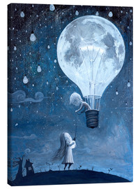 Canvas print  He gave me the brightest star - Adrian Borda
